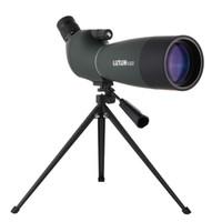 alcance de zoom al por mayor-Telescopio monocular de observación de nitrógeno Observatorio de astronomía 25-75x70 mm BAK4 Zoom 45 De Nitrógeno Caza Observador de aves