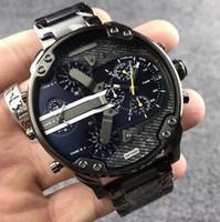 melhor relógio esportivo venda por atacado-Best-seller Moda Homens Relógios dz 7331 Aço Inoxidável relógios esportivos Homens Militar de Quartzo Relógios De Pulso Relógio relogio masculino rejoles