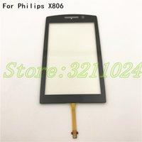 touch screen philips großhandel-Gute qualität 100% getestet 3,5 zoll digitizer screen für Philips Xenium X806 Touchscreen Sensor Ersatz