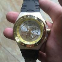 reloj deportivo unisex de cuarzo al por mayor-Marca francesa de alta calidad Technomarine reloj cuarzo multifuncional deportes al aire libre versión marina unisex silicona watc