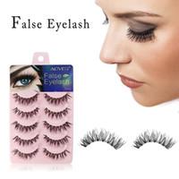 Wholesale transparent strip false eyelashes for sale - Group buy 3D Mink Eyelashes Natural False Eyelashes Long Eyelash Extension Faux Fake Eye Lashes Makeup Tools pairs set RRA1327