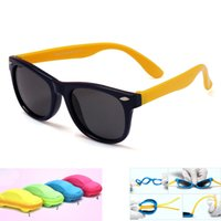 Wholesale sunglasses polaroid children for sale - Group buy With case Children HD Polarized Sunglasses Kids sunglasses polaroid sun glasses For Girls Boys Baby Glasses retro eyewear