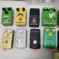 Wholesale electric guitar flanger resale online - Classic JOYO Guitar Effect Pedal Distortion Overdrive Delay Echo Reverb Multi Effects Chorus Flanger Wah Volume Phase for all Guitars