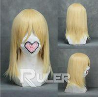 Wholesale hetalia cosplay for sale - Group buy Wig Hetalia Axis Powers Felix Lukasiewicz Kingdom Hearts Namine Cosplay Wig