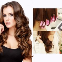 Wholesale magic hair curlers size resale online - 10pcs set magic hair rollers different size silicone hair curlers rollers DIY Curl Hair Styling Rollers for beauty home use