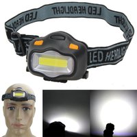 Wholesale headlamps outdoors for sale - Group buy Mountain Climbing Hiking Headlight Waterproof W Fishing Camping Outdoor Portable Bright Head Lamp Button Switch White Light qtD1