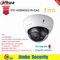 ip kamera varifocal großhandel-Dahua 5MP IP-Kamera IPC-HDBW2531R-ZAS H.265 / H.264 SD-Kartensteckplatz IR 50M Motorisiertes Varioobjektiv 2.7 ~ 13.5mm 1/1 Audio 1/1 Alarm