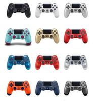 playstation ps4 joysticks großhandel-Bluetooth Wireless Joystick für den PS4-Controller Passend für die PlayStation 4-Konsole Für das Playstation Dualshock 4-Gamepad