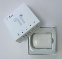 xiaomi tabletleri toptan satış-I7s TWS Bluetooth Kablosuz Kulaklık Stereo Kulaklık Kulaklık Şarj Kutusu Ile Mic Xiaomi iPhone Samsung LG Için Tüm Bluetooth tablet
