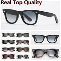 autocollant lunettes de soleil achat en gros de-lunettes de soleil hommes de designer de qualité supérieure la plupart des lunettes de soleil classiques cadre en acétate verres en verre véritable étui en cuir original, boîte, autocollant code à barres!