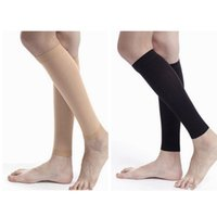 Wholesale calf compression socks resale online - Sport socks Outdoor Relieve Leg Calf Sleeve Varicose Vein Circulation Compression Elastic Stocking Leg Support LJJZ678