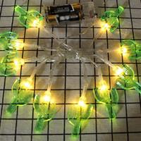 ingrosso le batterie vendute natale-Miglior esplosione di vendita Luci di Natale Cactus Battery Box luminosi di festa della decorazione della stanza Atmosfera calda luce della lampada