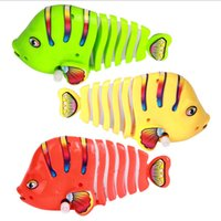 Wholesale big swing for sale - Group buy Big Swing Tails Fish Clockwork Toys Kids Windup Toy Gifts For Baby Large Size Hot Sale jx O1