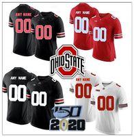 camisetas universitarias personalizadas al por mayor-camisas de encargo de Ohio State Buckeyes Haskins Jr. Jersey Los campos George Dobbins 2 Chase Young Griffin Bosa 15 Elliott George Escuela de Fútbol