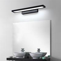 luces impermeables de baño al por mayor-2019 Lámparas de pared LED Espejo de baño Luz Impermeable Moderno Lámpara de pared de acrílico 11W Iluminación de baño AC85-265V