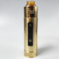 Wholesale purge slam piece mech mod kit clone vape mechanical mod with ml rda brass black red color