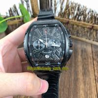 Wholesale iro for sale – best NEW SARATOGE V SC DT IRO COBRA Snake pattern Dial Japan VK Quartz Chronograph Movement Mens Watch Black Case Leather Strap Watches