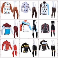 Wholesale long cube for sale - AG2R COFIDIS Colombia CUBE Cycling long Sleeves jersey bib pants sets Spring and Autumn Men s Comfortable Breathable Sports Jersey Set S5241
