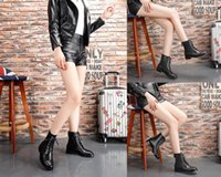 Wholesale c grains for sale - Group buy With Boxs Lace up Black booties Womens Casual shoes Beautiful Platform Casual Sneakers Luxury Designers Shoes Leather Martin Boots Trainer