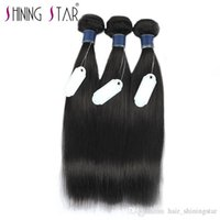 Wholesale low priced bundle hair for sale - Group buy 30 inch bundles malaysian remy human hair shining star high quality and low price Human Hair Bundles