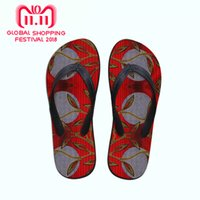Wholesale african print shoes for sale - Group buy Womnen flop flops girls beach sandals platform colorful African print shoes summer slippers lady woWomnen s flip flops