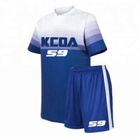 jersey china fábrica venda por atacado-Top Quality personalizado Camisola de Futebol Atacado Jersey Set China Factory Sportswear Camisola de Futebol