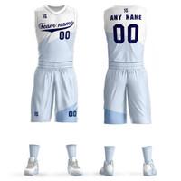 b4f3cb37b51 2019 Custom Mens Basketball Jersey Sets DIY Uniforms Kits Boys Sports  Clothing Cedi Osman Rodney Hood Breathable Customized College Team