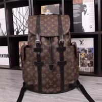 erkek marka seyahat çantası toptan satış-En çok satan klasik moda çanta marka tasarımcısı bayanlar erkek sırt çantası moda çanta unisex bir omuz seyahat dağcılık çantası