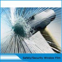 filme de janela de vendas venda por atacado-1,52 * 3m 4mil Janela de Controle Solar Construção à prova de explosão de vidro Film / Segurança Film autoadesivo Hot Sale
