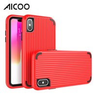 Wholesale samsung solid phone for sale – best AICOO In Solid Color Protective Hard Case Traveler Phone Cover for iPhone XS Max Samsung S10 Plus J4 Prime MOTO OPP