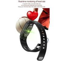 bracelets à leds verts achat en gros de-Bracelet intelligent femmes smartband pour xiaomi mi band 2 bracelet d'honneur huawei 4 bracelet de fitness féminin VS ID115 H8 H1 H2