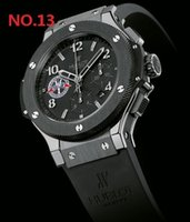 новые часы f1 оптовых-Новый серебряный Mens Hublot F1 Автоматическое движение Часы Big Bang мужчины Механические часы Модные спортивные наручные часы