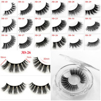 980a8033859 Wholesale eyelash extensions prices for sale - 36 Styles D Mink Eyelashes  Messy Thick Long Eye