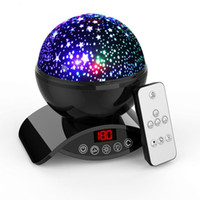 Wholesale LED Night Light Rotating Remote Control Star Projector Moon Lights gifts for women party Kid Baby Children Gift Lamps