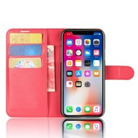 Wholesale new leather phone case online - New designer phone case For Iphone XS Max XR X Samsung S8 S9 Plus Wallet Case For Note Note PU Leather Cases Wallet Back Cover Pouch