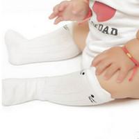 ingrosso calzini alti del ginocchio del bambino-Cute Baby Girl Socks Bambini Ragazze Bambino Cartoon Animal Knee High Socks Cotone neonato neonato Baby Girl Sock regali di Natale
