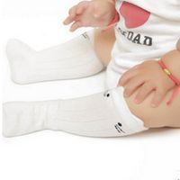 bebek pamuğu diz yüksek çorap toptan satış-Sevimli Bebek Kız Çorap Çocuk Kız Toddler Karikatür Hayvan Diz Yüksek Çorap Pamuk Yenidoğan Bebek Bebek Kız Çorap Yılbaşı Hediyeleri