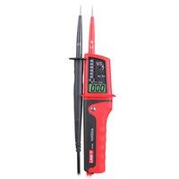 kurşun akü test cihazı toptan satış-UNI-T UT15B Su Geçirmez Tipi Gerilim Test Cihazları Tek Kurşun L2 Gerilim Algılama 24 V ~ 690 V AC / DC Testi Faz Rotasyon Testi