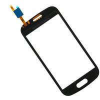 toque a tendência de samsung venda por atacado-10 pcs Touch Panel para Samsung Galaxy Lite S7390 tendência 7392 GT-S7390 S7392 frente digitador da tela de toque com Sensor De Lente De Cristal