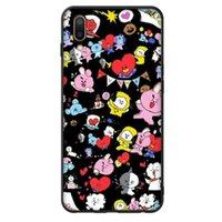 karikaturtelefonkastengalaxie groihandel-BTS schöne cartoon telefon case für iphone 5 s 6 s 6 plus 6 splus 7 7 plus 8 x samsung galaxy s6 s6ep s7 sep S7 S9