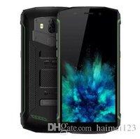 андроидные водонепроницаемые сотовые телефоны оптовых-Оригинальный Blackview BV5800 4G Phablet Android 8.1 5.5-дюймовый Quad Core 2 ГБ + 16 ГБ 13.0MP + 0.3MP Задняя камера IP68 Водонепроницаемость 5580 мАч 4G Мобильный телефон