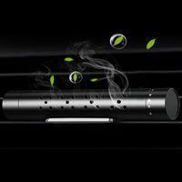 araba için hava kokusu toptan satış-Araba Hava Spreyi Araba Parfüm Klip Araba Tatlandırıcı Aroma Difüzör Sticker Arıtma Aromaterapi Kelepçe Oto Hava Firar Ev Parfümü