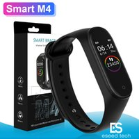 Wholesale heart rate blood pressure for sale - Group buy M4 Smart Band Fitness Tracker Watch Sport bracelet Heart Rate Smart Watch Fitbit inch Smartband Monitor Health Wristband PK mi Band