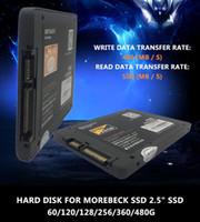 pc katı hal toptan satış-Morebeck 2.5 inç SATA3 SSD 60G 120G 128G 256G 360G 480G HDD Sabit Disk HD SSD Dizüstü PC Dahili Katı Hal Sürücü