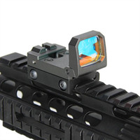 Wholesale airsoft scopes sights resale online - Vism Flip Red Dot Mini Pistol Sight RMR Reflex Holographic sight for airsoft