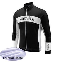 Wholesale long sleeve cycling jersey sale for sale - Group buy Hot Sale MORVELO Men cycling jersey long sleeve Winter Thermal Fleece cycling clothing Mountain Bike wear MTB Bicycle clothes F603126
