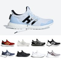 03d8698ac Wholesale ultra boost white shoes online - Game of Thrones Red Stripes  Ultra boost Running shoes
