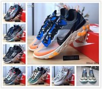 Wholesale skating games resale online - 2019 React Element Volt Game Royal Taped Seams Running Shoes For Women men s Blue Chill Trainer s Sail Sports Sneakers