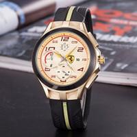 san valentín mira nuevas marcas al por mayor-Nuevos relojes de lujo para hombre de la marca de moda ultrafina reloj redondo para hombres banda de silicona relojes de pulsera de cuarzo reloj masculino regalo de san valentín 2019