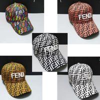 chapéus de verão de tecido venda por atacado-Bordado Letras F Bonés de Beisebol Ajustável Tecido De Cetim Esportes Chapéu de Sol Unisex Viseira Cap Verão Casquette Casuais Snapback A5501